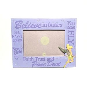 """Disney Tinkerbell Picture Frame 4"""" x 6"""""""